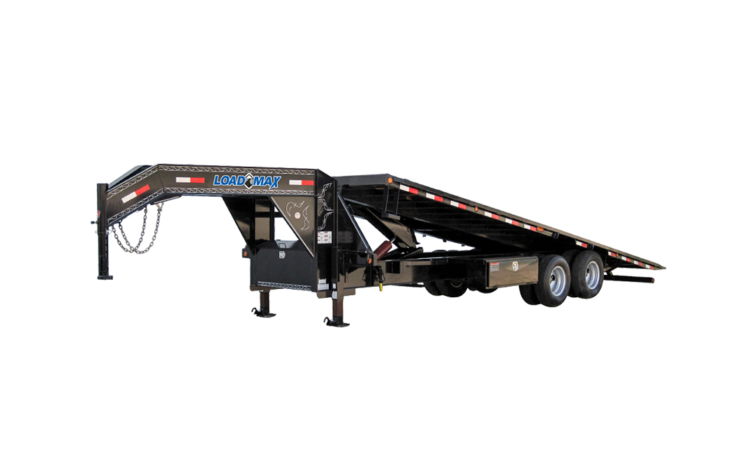 Gt24 Gooseneck Equipment Tilt Deck 24 000 Lb W 12 19 Lb